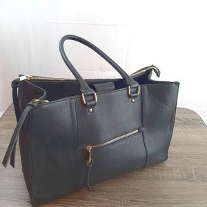 Black Merona tote bag